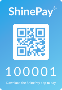 ShinePay QR Sticker