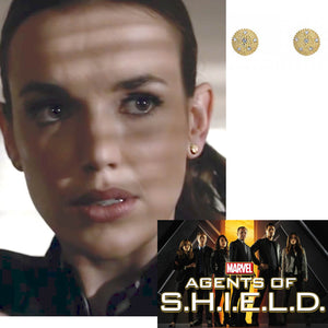 Agent Jemma Simmons from MARVEL Agents of S.H.I.E.L.D Super Shines in her Jewelry by Katrina Kelly