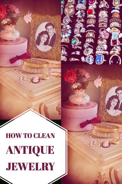How to Clean Antique Jewelry