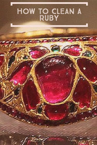 How to Clean Rubies and Ruby Care