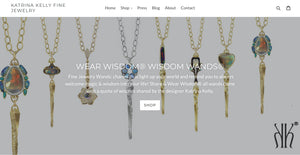 Fine Jewelry Designer Katrina Kelly's One-of-a-Kind Gold Jewelry Wand Charms