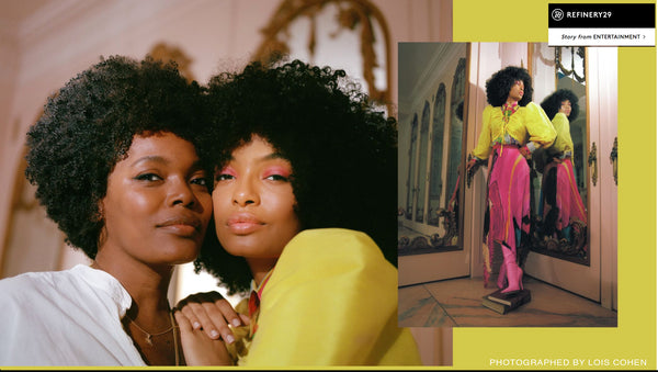 Actress, model, and activist Yara Shahidi and her equally beautiful mom Keri Shahidi, have been wearing a gold Sea Star Wish Wisdom Wand by jewelry designer Katrina Kelly