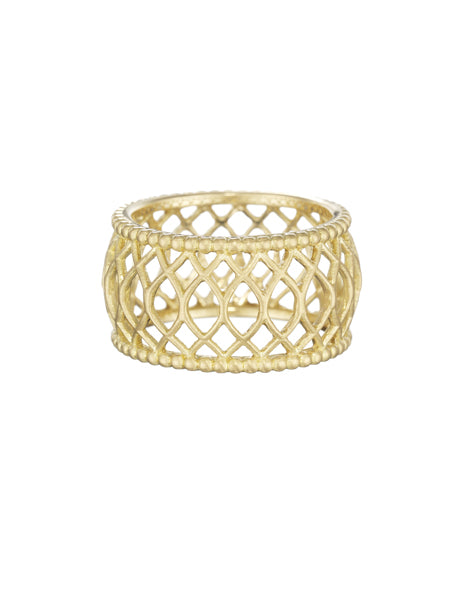 Gold Interlaced Ring