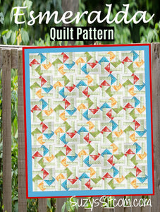 Esmeralda Quilt Pattern (Print at Home)