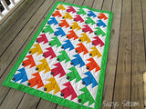 Sleepy Puppies Digital Baby Quilt Pattern