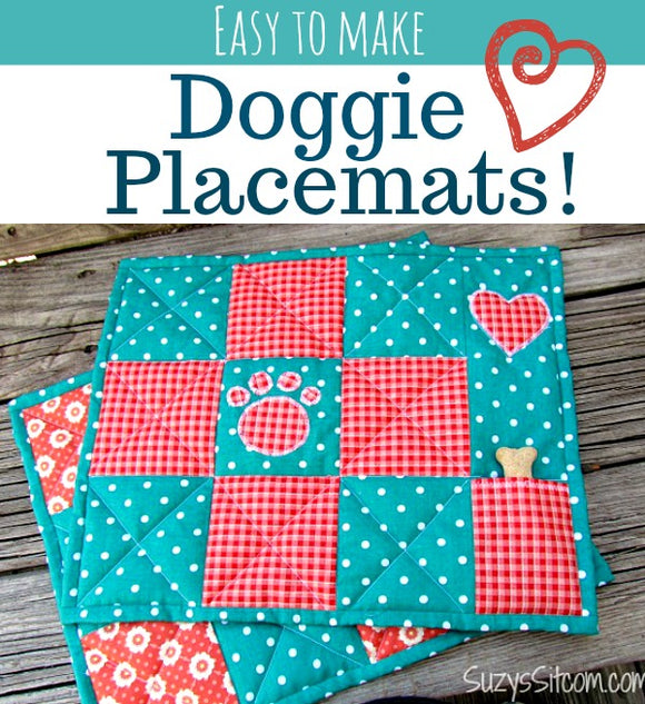 Doggie Placemats (Print at Home)