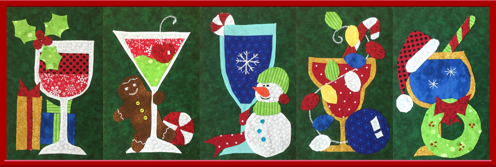 Christmas Runner Patterns.Holiday Table Runner Combo Pack 2 Fun Patterns Suzys