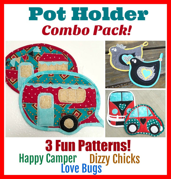 Pot Holder Combo Pack