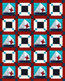 Sailboats & Stars Digital Quilt Pattern