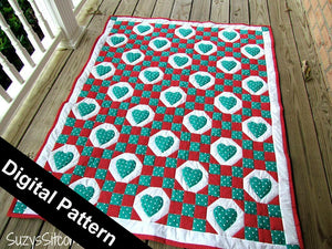 SweetHearts Digital Quilt Pattern