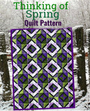 Thinking of Spring Quilt Pattern (Print at Home)