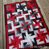 Windmills at Night Quilt Pattern