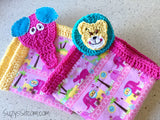 Lion and Elephant Lovey Crochet Pattern