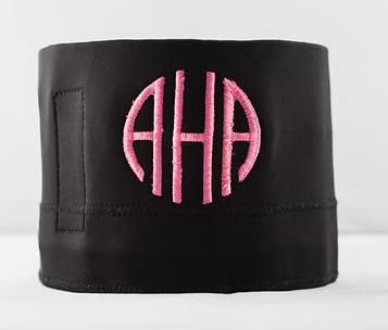 AHA Wrap with Custom Monogram