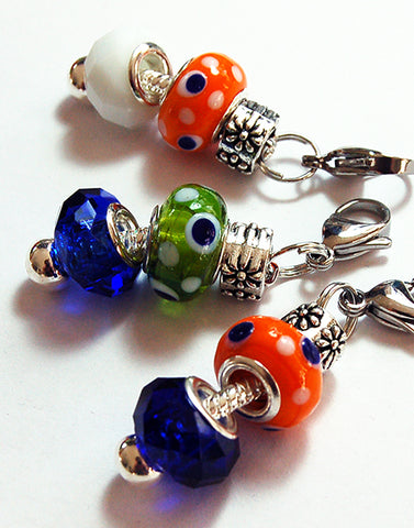 Bead Zipper Charms