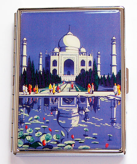 Taj Mahal Slim Cigarette Case - Kelly's Handmade