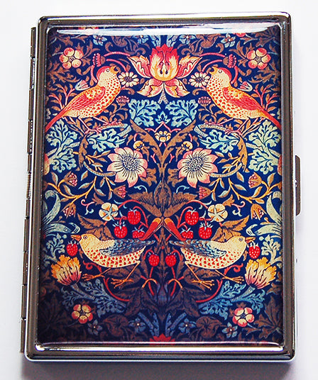 Vintage Ornate Wallpaper Slim Cigarette Case - Kelly's Handmade