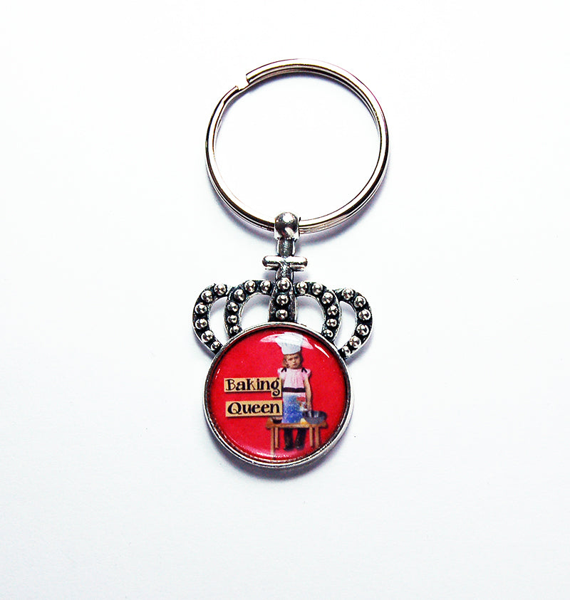 Baking Queen Crown Keychain - Kelly's Handmade