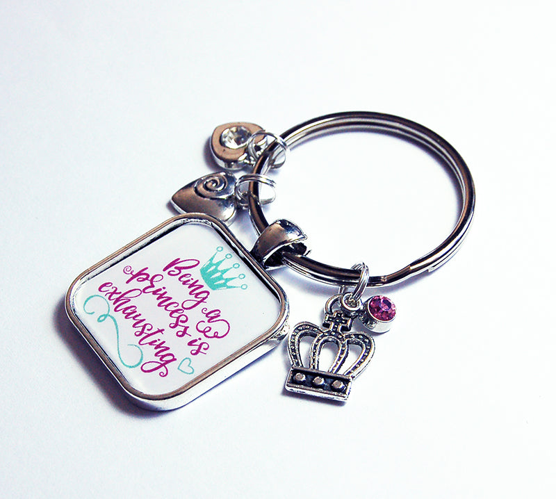 Being A Princess Keychain - Kelly's Handmade