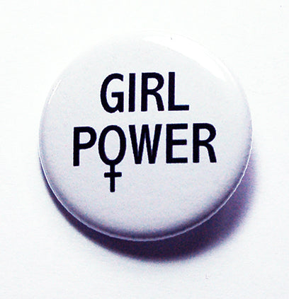Girl Power Pin - Kelly's Handmade
