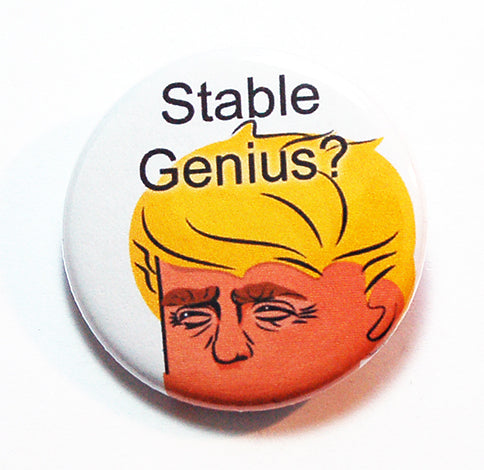 Stable Genius? Pin - Kelly's Handmade