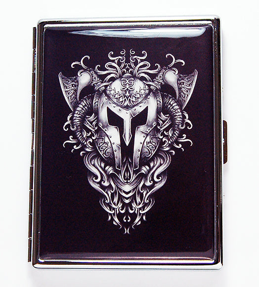 Viking Armor Slim Cigarette Case - Kelly's Handmade