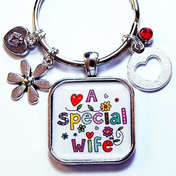 A Special Wife Keychain - Kelly's Handmade