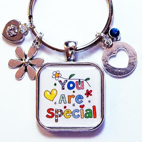 You Are Special Keychain - Kelly's Handmade