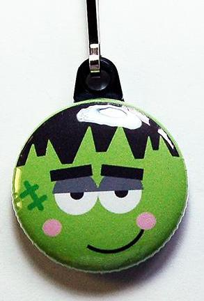 Halloween Monster Zipper Pull - Kelly's Handmade