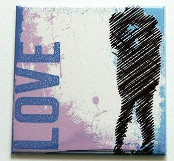 Love Magnet - Kelly's Handmade