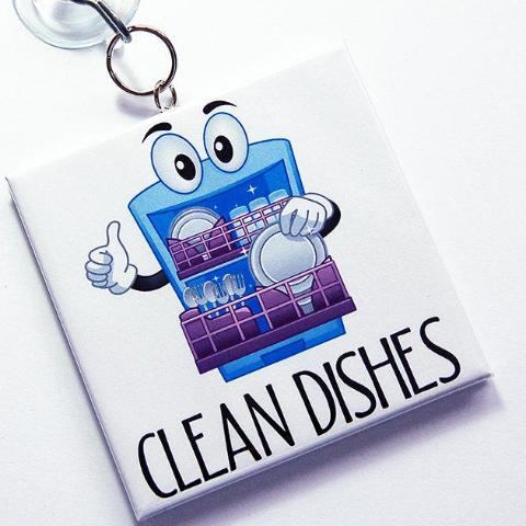 Thumbs Up Clean/Dirty Dishwasher Sign - Kelly's Handmade