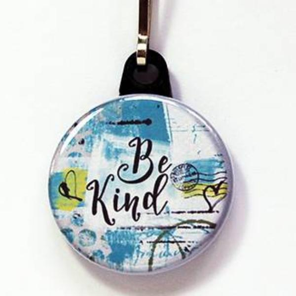 Be Kind Zipper Pull - Kelly's Handmade