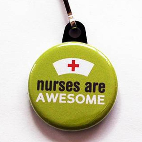 Nurses Are Awesome in Green - Kelly's Handmade