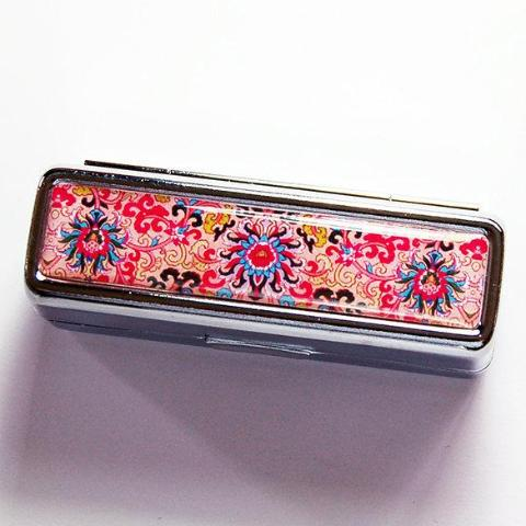 Venetian Print Lipstick Case in Shades of Pink - Kelly's Handmade