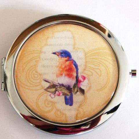 Bird Compact Mirror - Kelly's Handmade