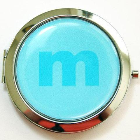 Color on Color Monogram Compact Mirror - Kelly's Handmade