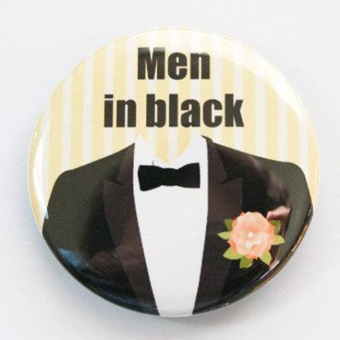 Men in Black Wedding Bottle Opener - Kelly's Handmade