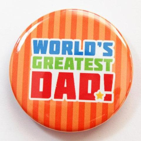 Worlds Greatest Dad Bottle Opener - Kelly's Handmade