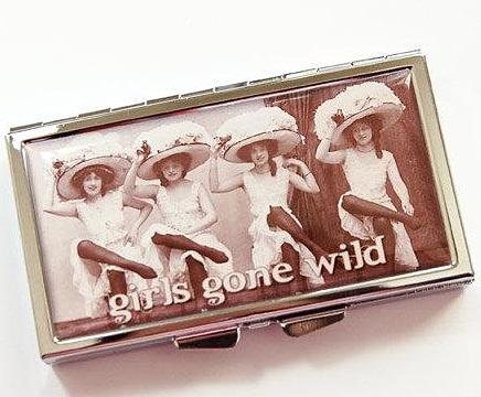 Girls Gone Wild 7 Day Pill Case - Kelly's Handmade