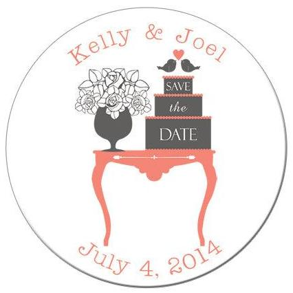 Classic Save the Date Magnet - Kelly's Handmade