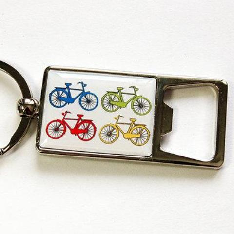 Bicycle Keychain Bottle Opener - Kelly's Handmade
