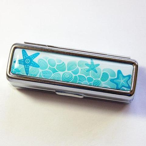 Sea Shell Lipstick Case - Kelly's Handmade