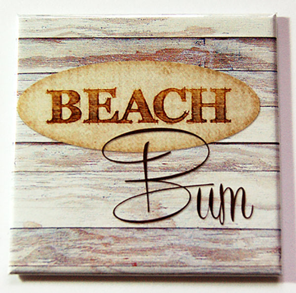 Beach Bum Magnet - Kelly's Handmade