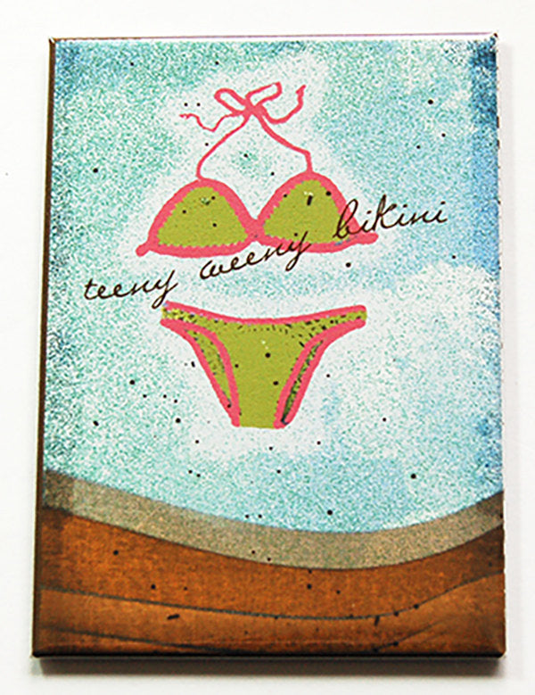 Teeny Weeny Bikini Rectangle Magnet - Kelly's Handmade