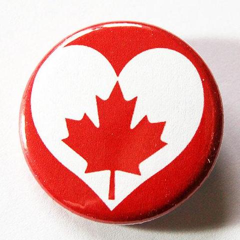 Love Canada Pin - Kelly's Handmade