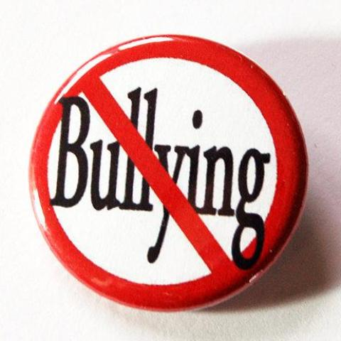 No Bullying / Stop Bullying Pin - Kelly's Handmade