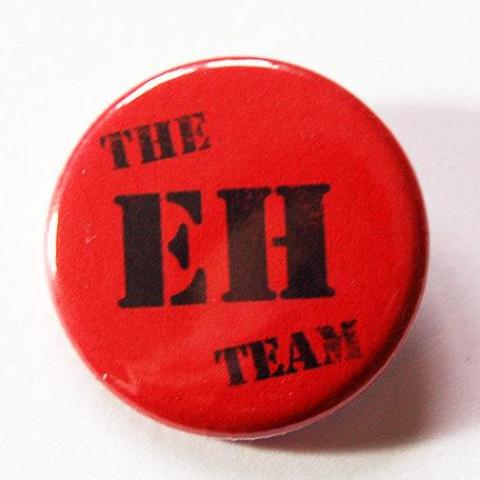 The EH Team Canada Pin - Kelly's Handmade