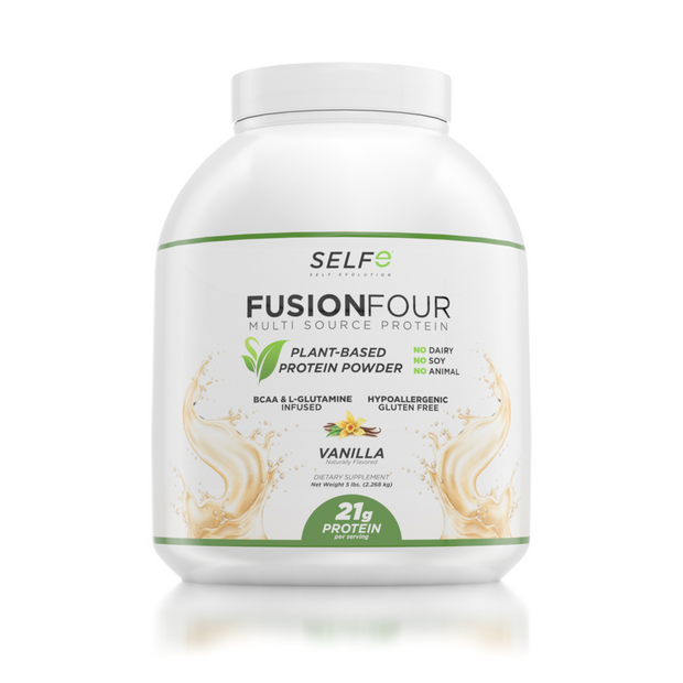 Fusion Four - Vegan Protein - BCAA Infused Plant-Based Protein Powder