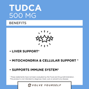 Tudca 500mg 60 Caps