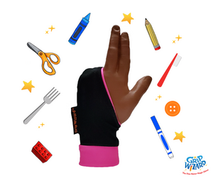 Hot Pink Grip Wizard, Fine Motor and Handwriting Magic Glove